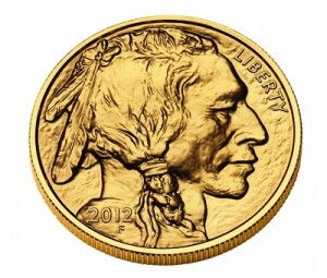 The Obverse of the American Gold Buffalo