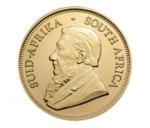 The Obverse of the South African Gold Krugerrand