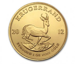 The Reverse of the South African Gold Krugerrand