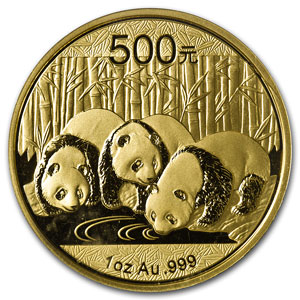The Obverse of the Chinese Gold Panda