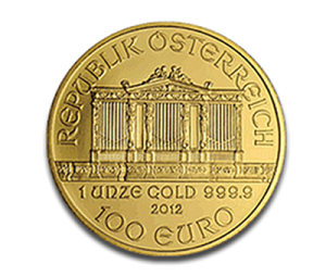 The Reverse of the Austrian Gold Philharmonic