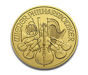 The Obverse of the Austrian Gold Philharmonic